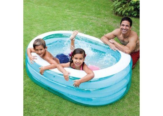Jeu de Plein Air - Petite piscine ovale baleine - 163X107x46 cm INTEX - Piscine et Plage - ÉVEIL ET JOUET   Livraison gratuite dès 29 euros.