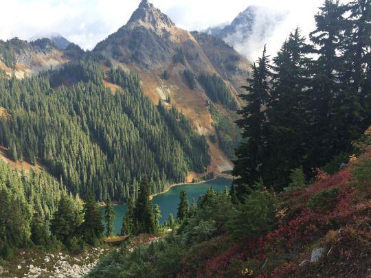 Alpine Lakes Wilderness, Pacific Crest Trail