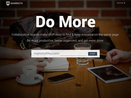 Mammoth: Get stuff done, together