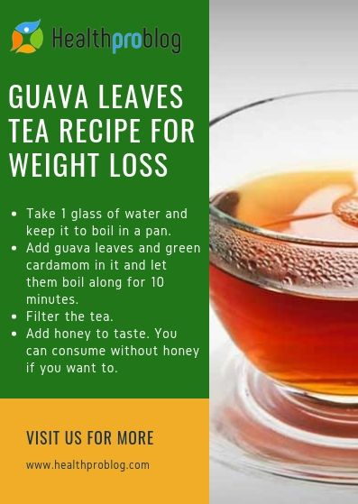 Guava Leaves for Weight Loss – Tea Recipes and Health Benefits