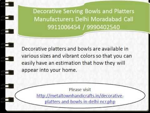 decorative serving bowls and platters manufacturers 9911006454