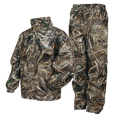 Coveralls 177869: Frogg Toggs As1310-56Lg All Sports Camo Suit Max 5 Camo Lg -> BUY IT NOW ONLY: $59.95 on eBay!