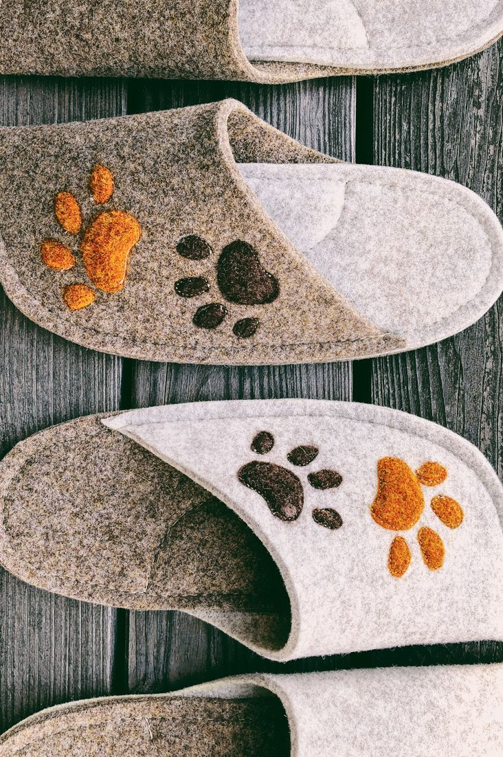 Handmade personalized slippers for all