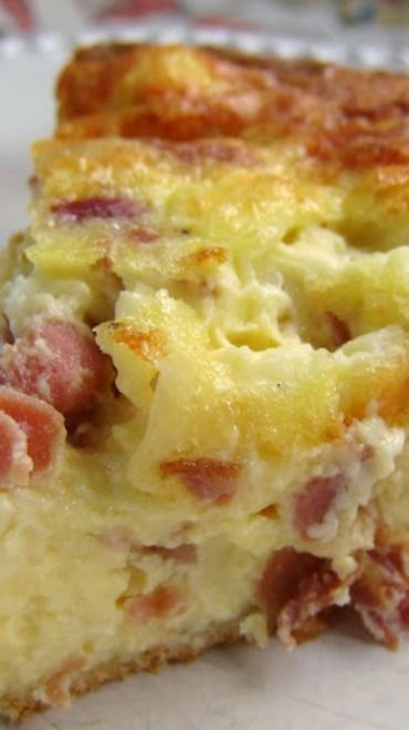 Serrano Ham And Manchego Cheese Quiche...