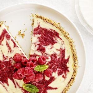I Quit Sugar - Christmas Berry Swirl Cheesecake
