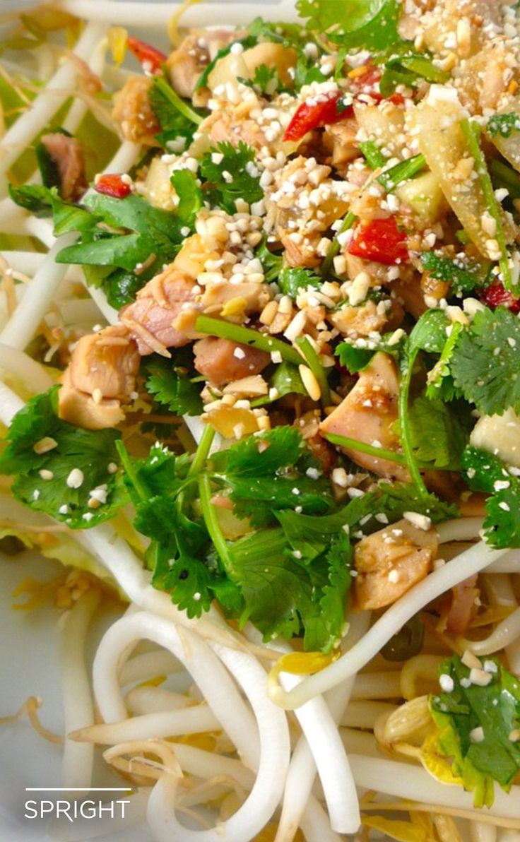 """Shake up your salads and stir fries with this spicy Thai """"Peanut"""" Salad Dressing."""