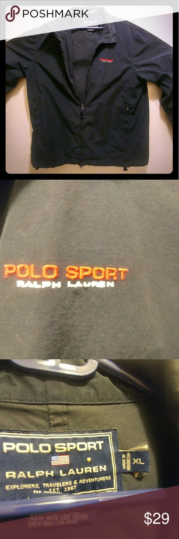 Ralph Lauren polo jacket Vintage, dark blue, size extra large Ralph Lauren Jackets & Coats Windbreakers