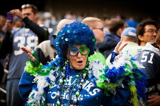 Mamma Blue: Photos Galleries, Seahawks Fans, 12Th Men, Mama Blue, Seattle Seahawks, Seahawks 12Thman, 12Th Woman, 12Th Man, Arizona Cardinals