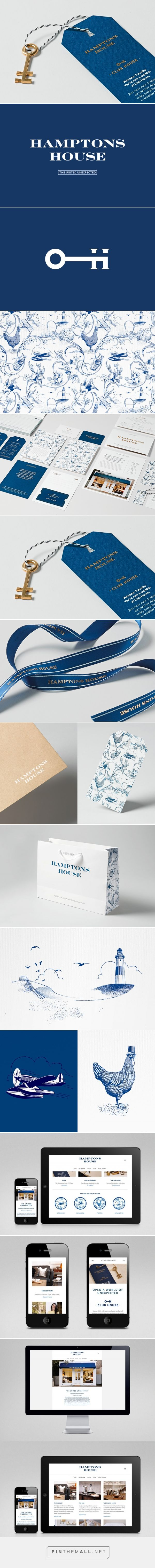 New Brand Identity for Hamptons House by Moffitt.Moffitt - BP&O - created via https://pinthemall.net
