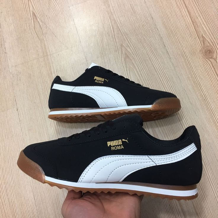 Puma Roma Basic Kauçuk Taban Siyah Beyaz Renk Günlük Spor Ayakkabı  WhatsApp Bilgi Hattı ve Sipariş : 0 (541) 2244 541  www.renkliayaklar.net