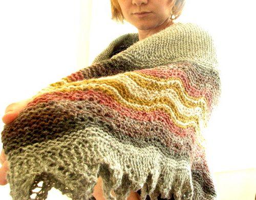 bressay hap shawl