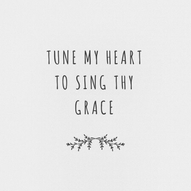 Prone to wander, Lord I feel it // prone to leave the God I love // here's my heart, Lord, take and seal it // seal it for Thy courts above. #spokenly