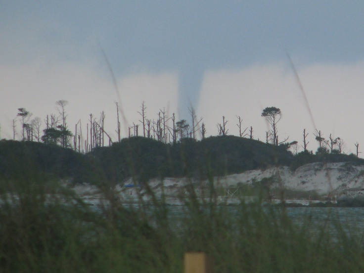 Water Spout near St Andrews State Park