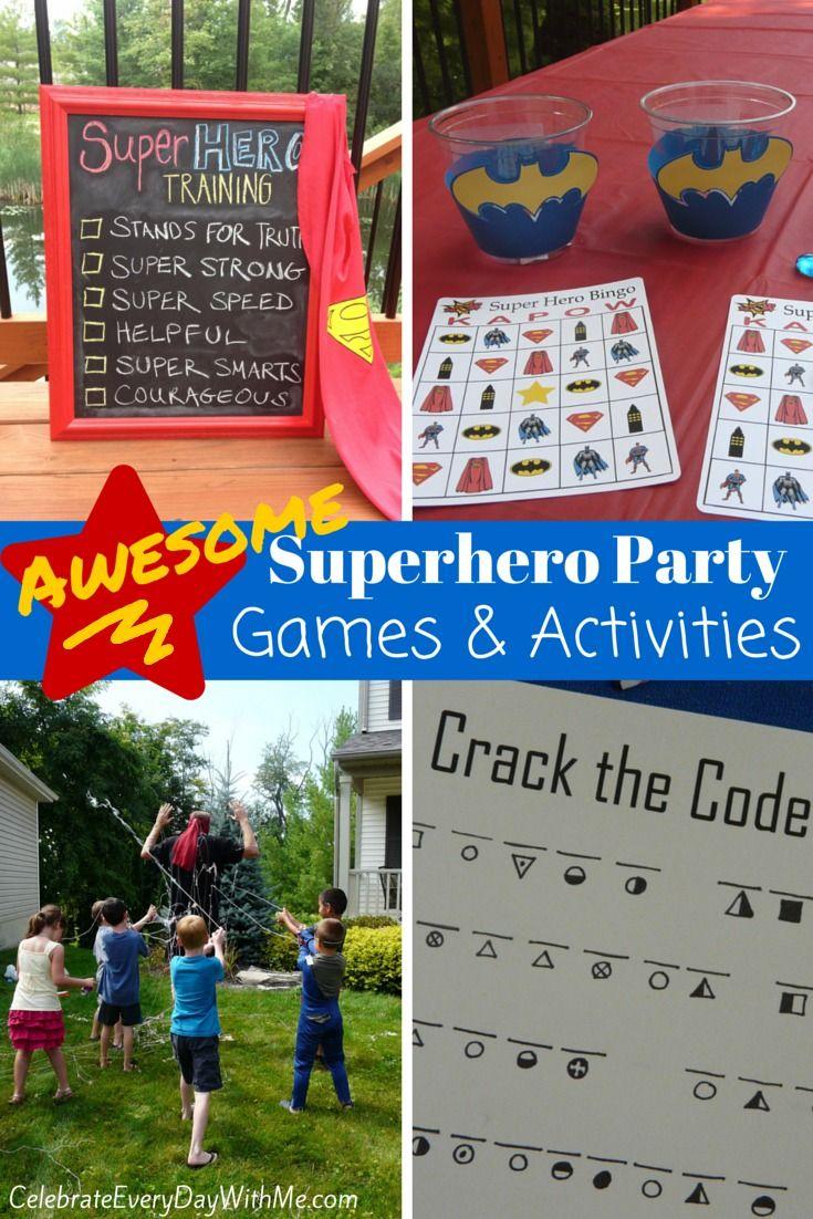 best 25 superhero party activities ideas only on pinterest