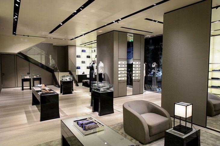 Giorgio Armani Store In St Petersburg + Eccentrico Exhibition!