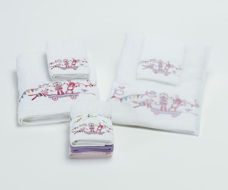 'Circus Group' towel range includes bath towel and face washers