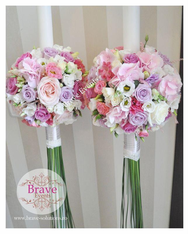 Brave Events - Lumanari de cununie pentru nunta si botez