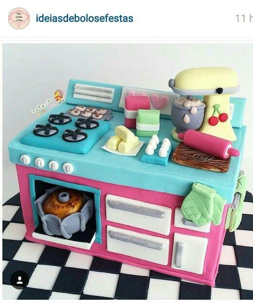 Baking cake!