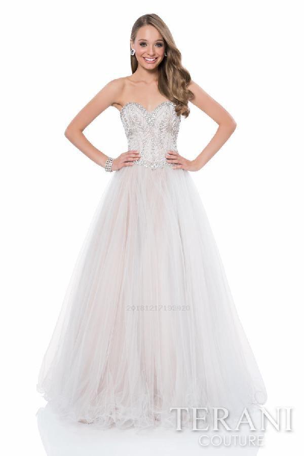 1faa379f345 Discount Sale Sexy Terani Prom 1611P1240 Dresses Sexy Prom Dress