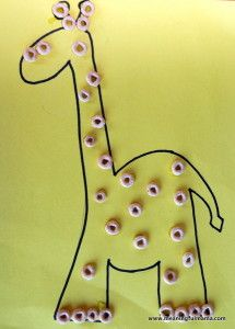 Giraffe - Character Development, Week #35 - Meaningfulmama.com