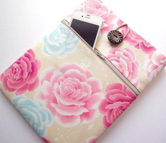 Kimono iPad 3 Cover iPad 2 Sleeve iPad Case  Front by MofLeema, $24.99