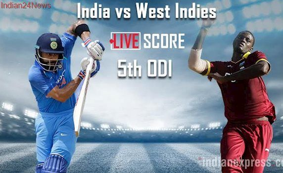 India vs West Indies, Live Cricket Score, 5th ODI: India on track with Kartik-Kohli stand against West Indies at Sabina Park