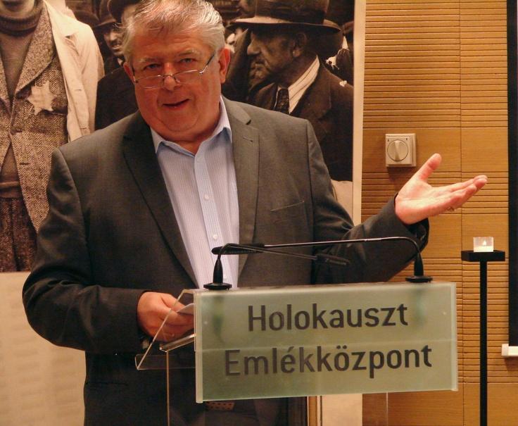 Prof. Dr. Szita Szabolcs ecseteli az Anschluss hatását a burgenlandi zsidók helyzetére