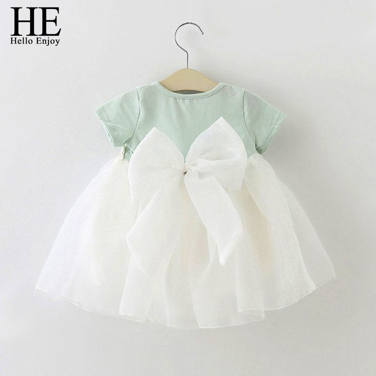 HE Hello Enjoy Baby Girl Dress 1 year birthday dress lace infant baptism vestido infantil bowknot princess wedding dress //Price: €11.68 & FREE Shipping //   #fashion #baby #clothes #trendy #2017