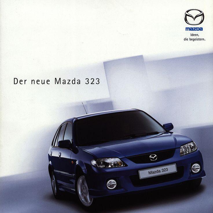 https://flic.kr/p/GZwoBc | Mazda 323, Der neue; 2000