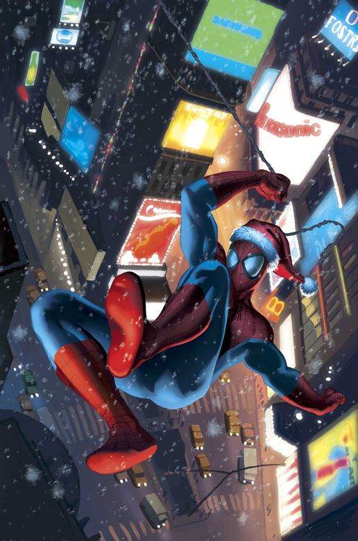 Marvel 2004 Holiday Special - Spider-Man by Stuart Immonen