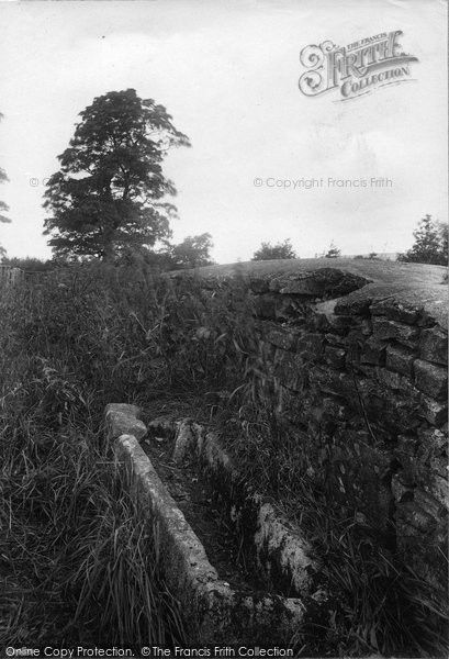 West Witton, Swinethwaite, Stone Coffin 1911, from Francis Frith