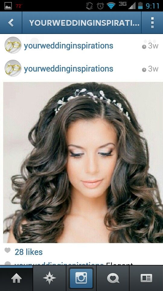 I want my hair curled like this.