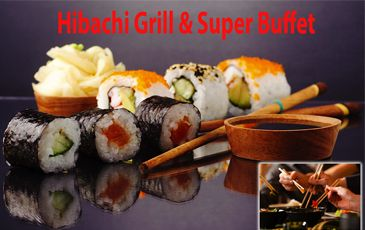 40% Off Chinese Buffet, Sushi and More at Hibachi Grill & Super Buffet in West Hartford ($20 Value) http://ginaskokopelli.com/40-off-chinese-buffet-sushi-and-more-at-hibachi-grill-super-buffet-in-west-hartford-20-value/
