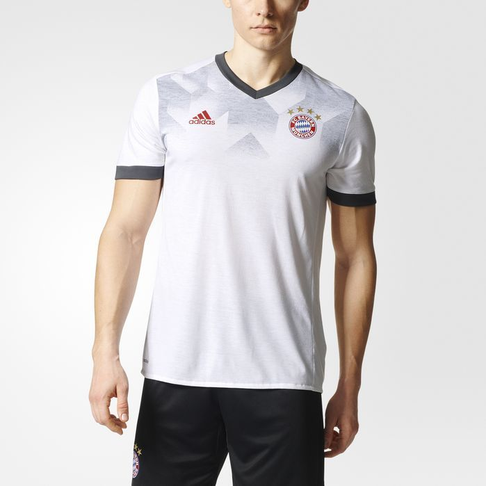 adidas FC Bayern Munich Home Pre-Game Jersey - Mens Soccer Jerseys