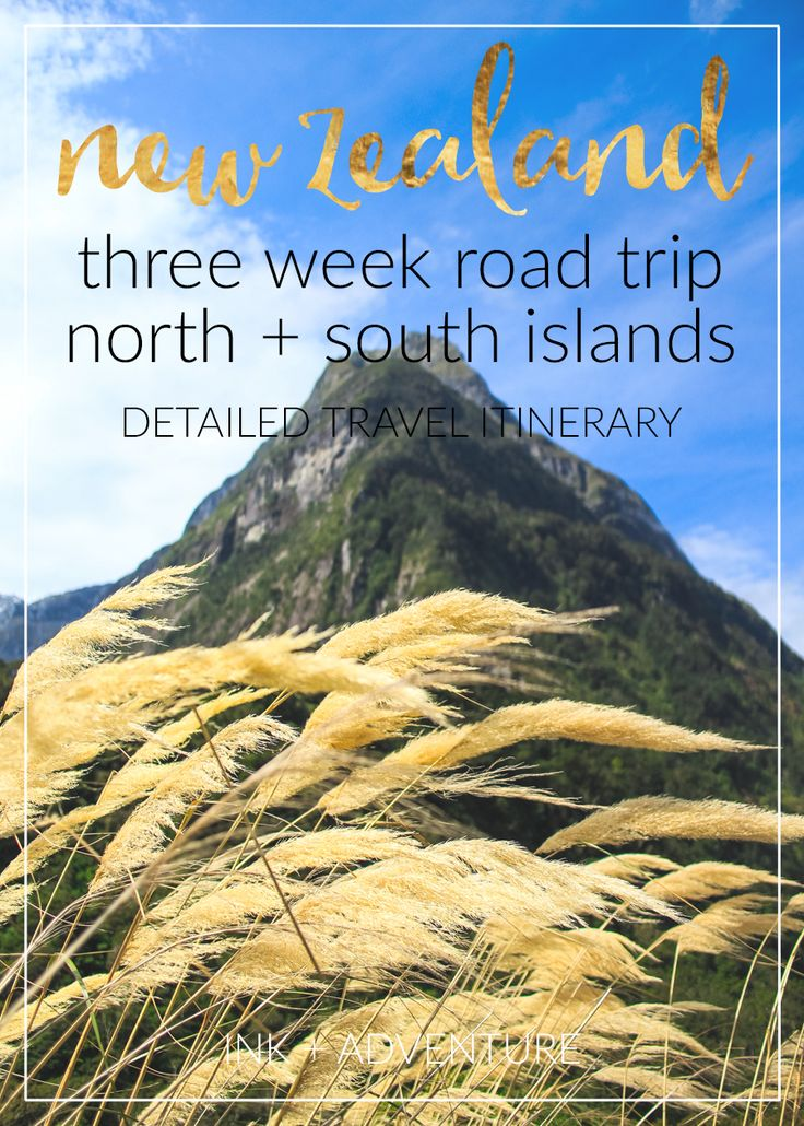 three weeks in New Zealand: a detailed travel itinerary for a 21-day road trip. all the info on where we stayed, what we saw, and what we ate while traveling both north and south islands.