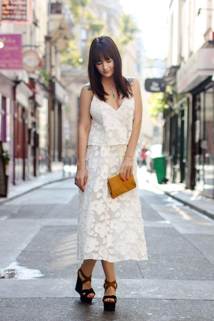 Vestido leve com jaqueta de couro | Danielle Noce