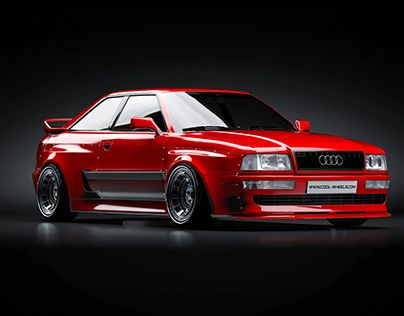 """#tlibekua Check out new work on my @Behance portfolio: """"Audi S2 CoolWheels"""" be.n… – Roland Lehmer"""
