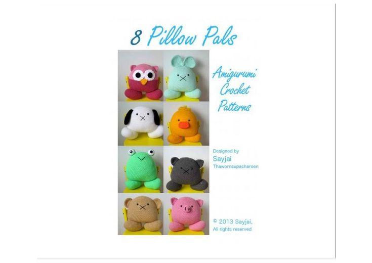 8 Pillow Pals   Amigurumi Crochet (Sayjai) Http://knits4kids.com/collection En/library/album View/?aid=54996