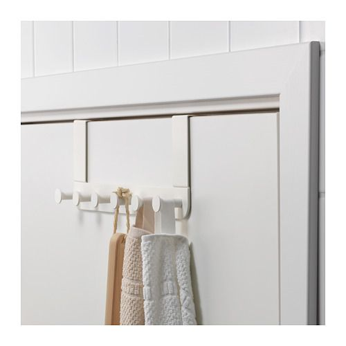 ENUDDEN Hanger for door IKEA Covered back prevents scratching of door. Hanging storage helps you to convert unused space into a storage place.