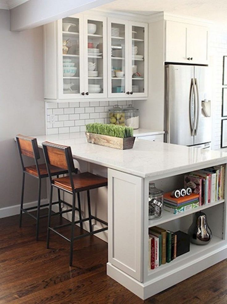 Apt Kitchen Renovations: 17+ Remarkable Small Kitchen Remodel Granite Ideas