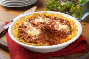 Family-Favorite Spaghetti Pie recipe