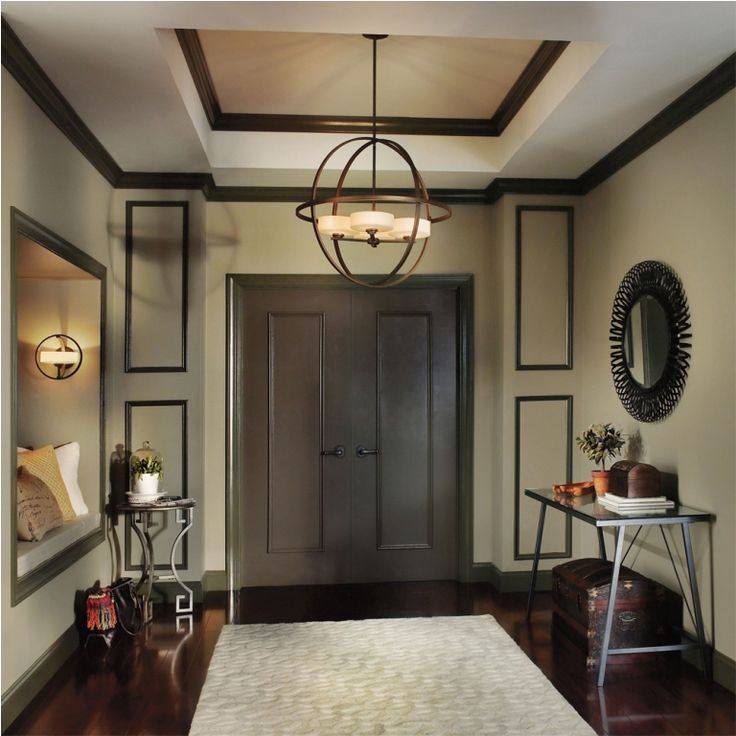 Interior Great Foyer Lighting Semi Flush From Things To Consider When Installing