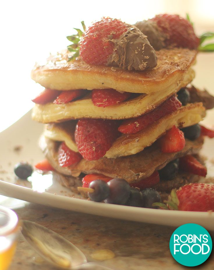 Pancakes from the heart - Mothersday