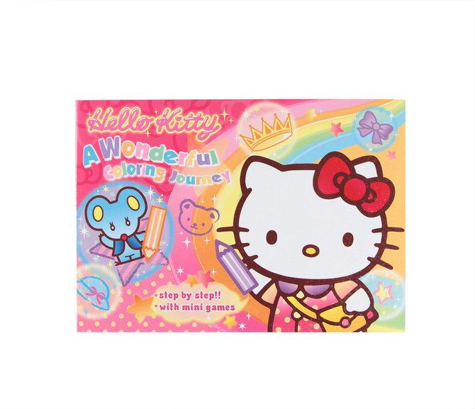 Hello Kitty Coloring Book: Colorful