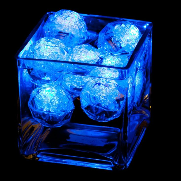 Underwater LED Lights - LED Floating Diamond Spheres (2 pcs) NEW! [RS9878 Floating Diamond Sphere] : Wholesale Wedding Supplies, Discount Wedding Favors, Party Favors, and Bulk Event Supplies