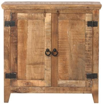 Holbrook Cabinet Homedecorators Mango Wood And Iron 570 36x36x16