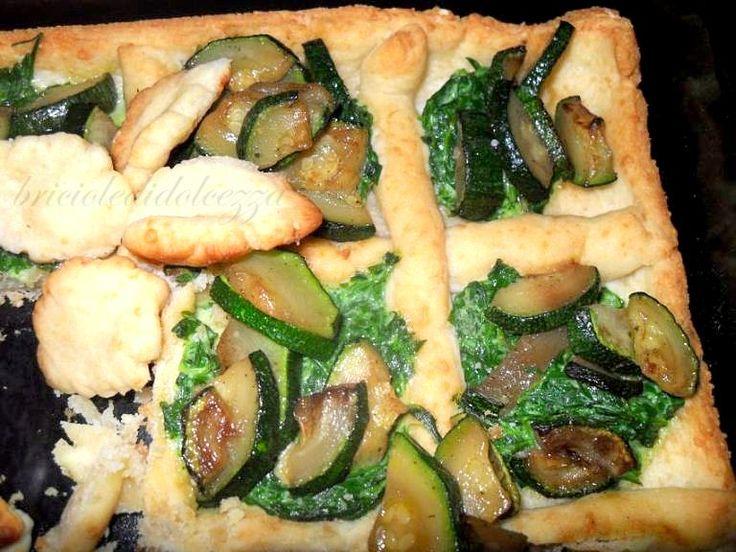 Crostata di Zucchine al Pesto