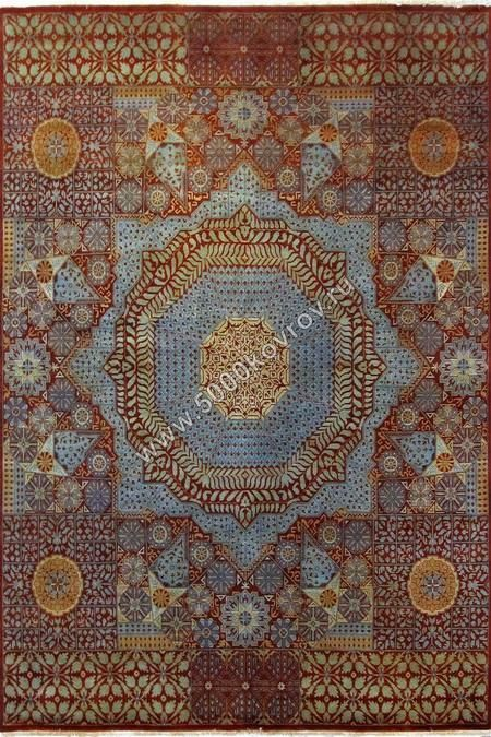 Красные ковры, купить ковер розового или бордового цвета в Москве