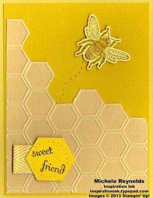 Backyard Basics Honeycomb Bee Friend