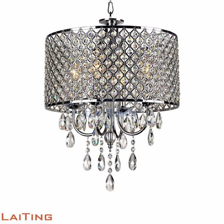 meditrans drop table lamp chandelier crystal ip